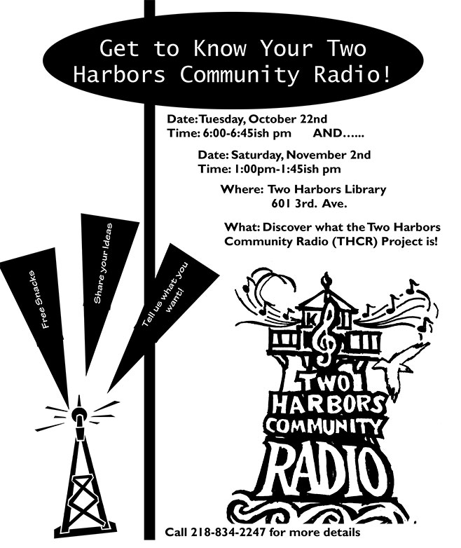 Community Radio Meeting Flyer