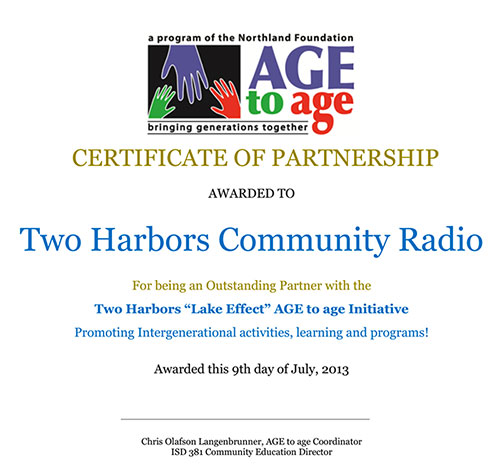 Age to Age Award