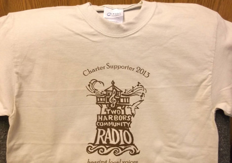 Two Harbors Community Radio T-Shirt