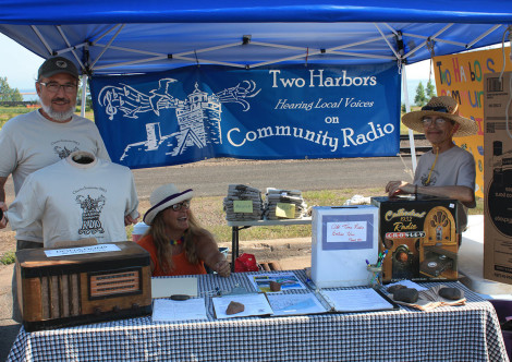 Radio Booth at Heritage Days