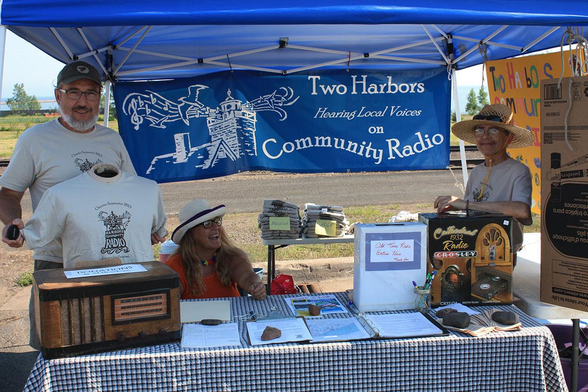 Radio Booth at Heritage Days