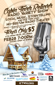 Radio Variety Show at Harbor Theater, Feb. 28, 7pm - see you there!