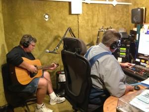 Mel Sando, Dave's guest on the Beat Farm