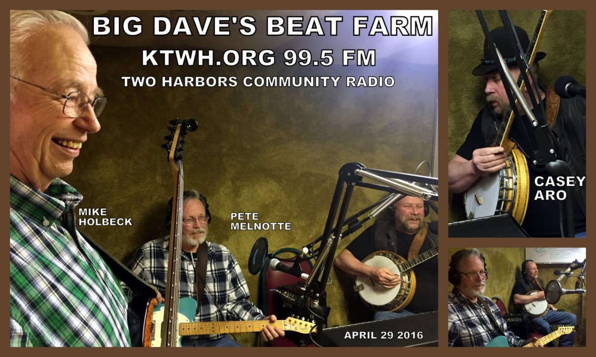 Casey Aro and friends - guests on Dave's Beat Farm