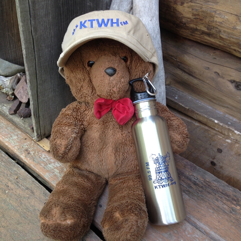 Premiums for donations to KTWH - see Donations page (bear NOT included!)