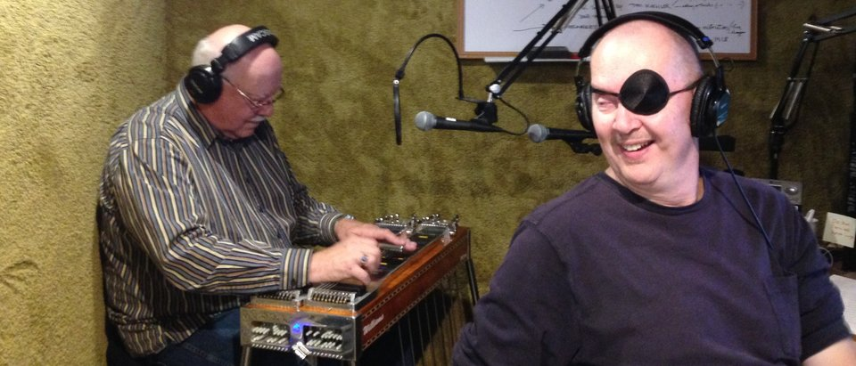 Pedal guitarist Dave Slattery graces the Steel Harmony Show with host Paul