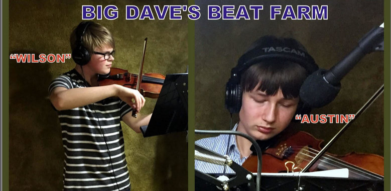 Dave's Beat Farm welcomes two young fiddlers/violinists!